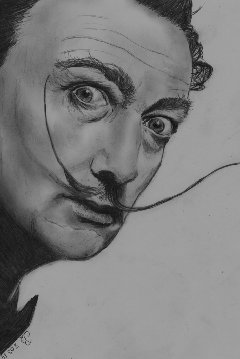 Salvador Dali by barbouille